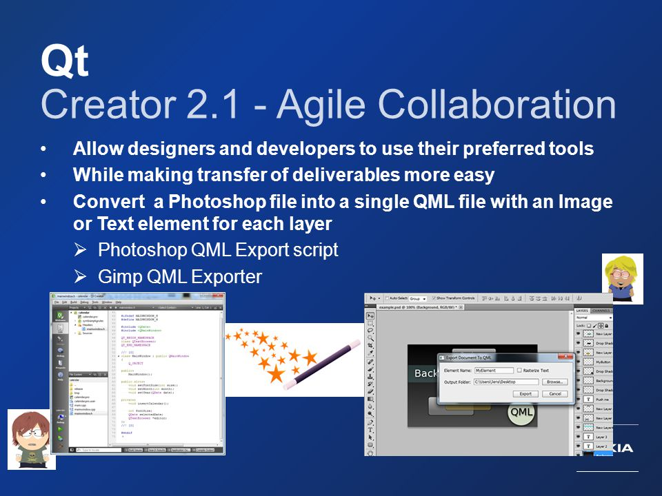 Qt Creator 2.1 - Agile Collaboration