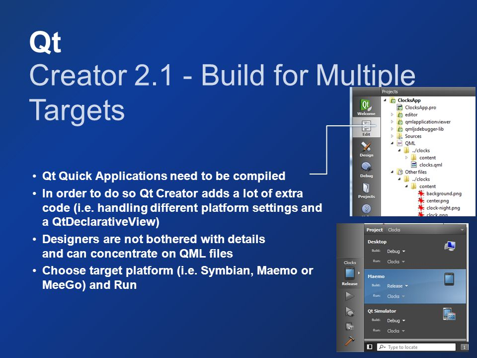 Creator 2.1 - Build for Multiple Targets