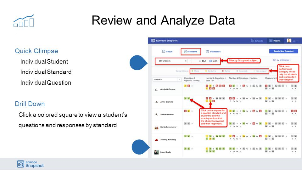 Review and Analyze Data