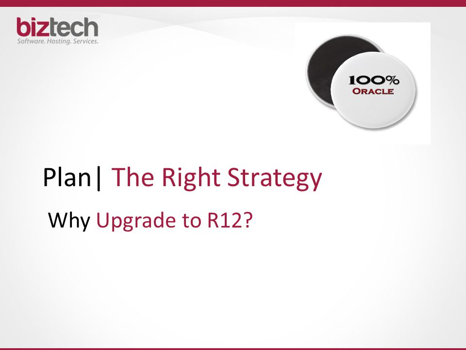Plan| The Right Strategy