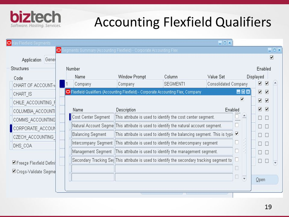 Accounting Flexfield Qualifiers