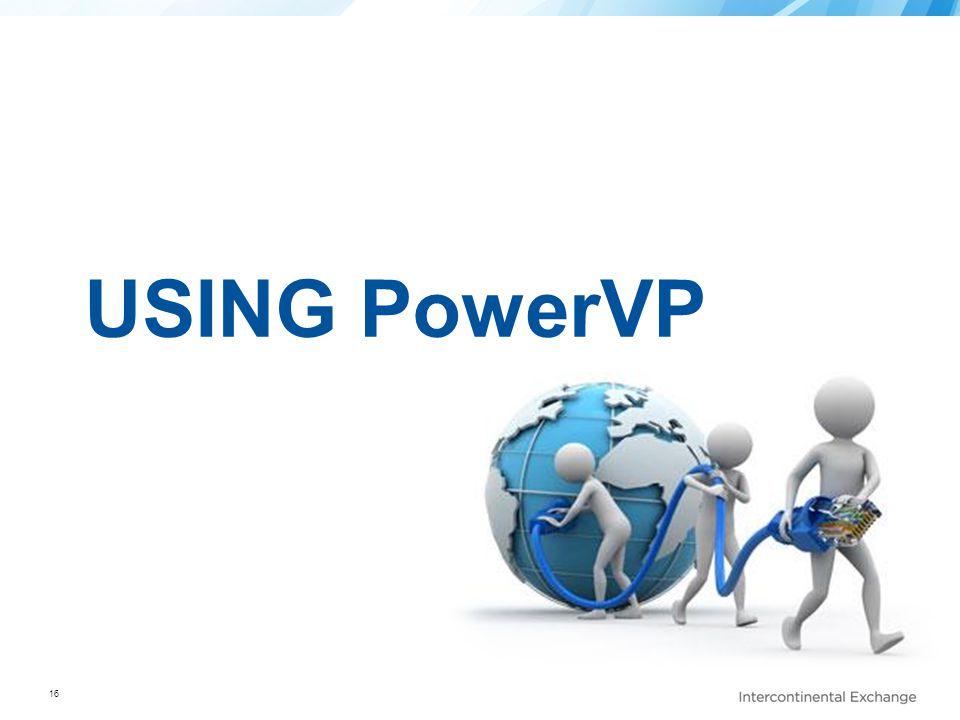 USING PowerVP