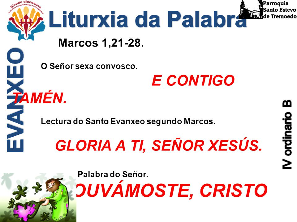 Liturxia da Palabra EVANXEO