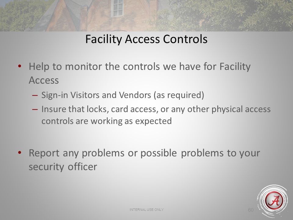 Facility Access Controls