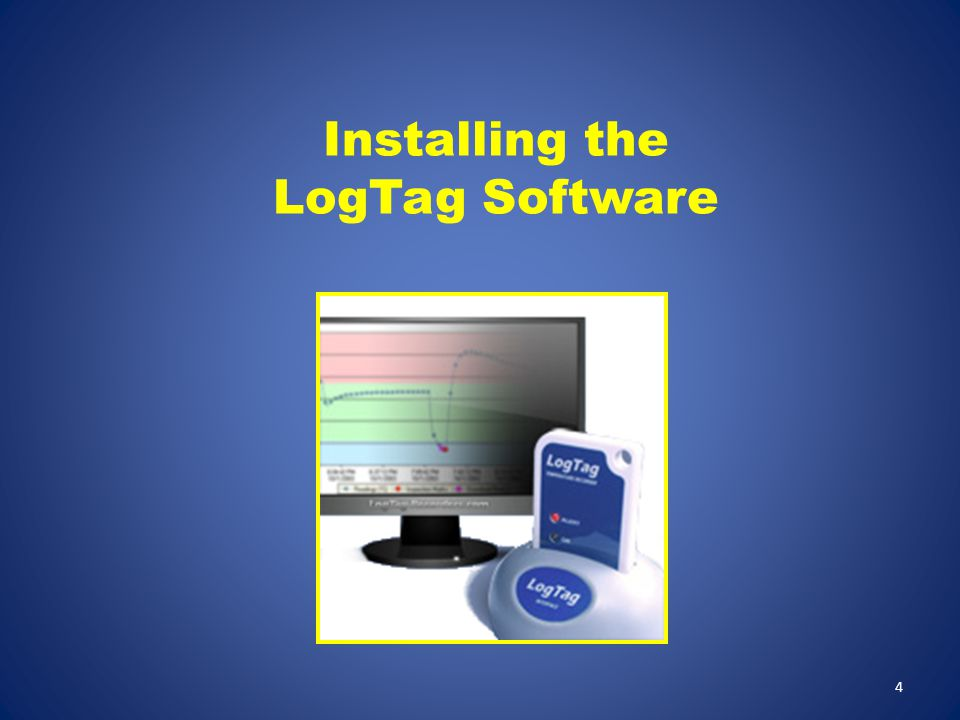 Installing the LogTag Software