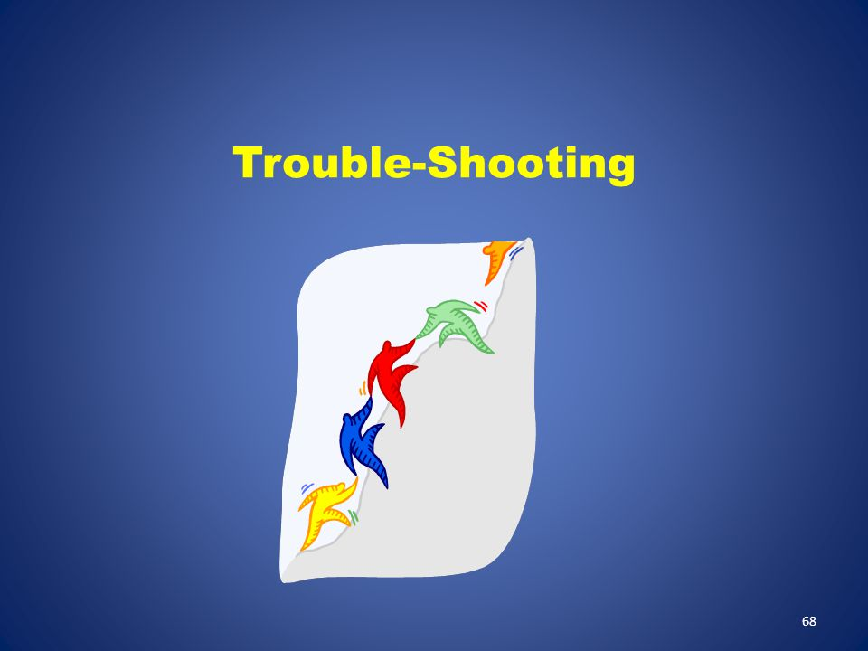Trouble-Shooting Trouble-shooting the LogTag