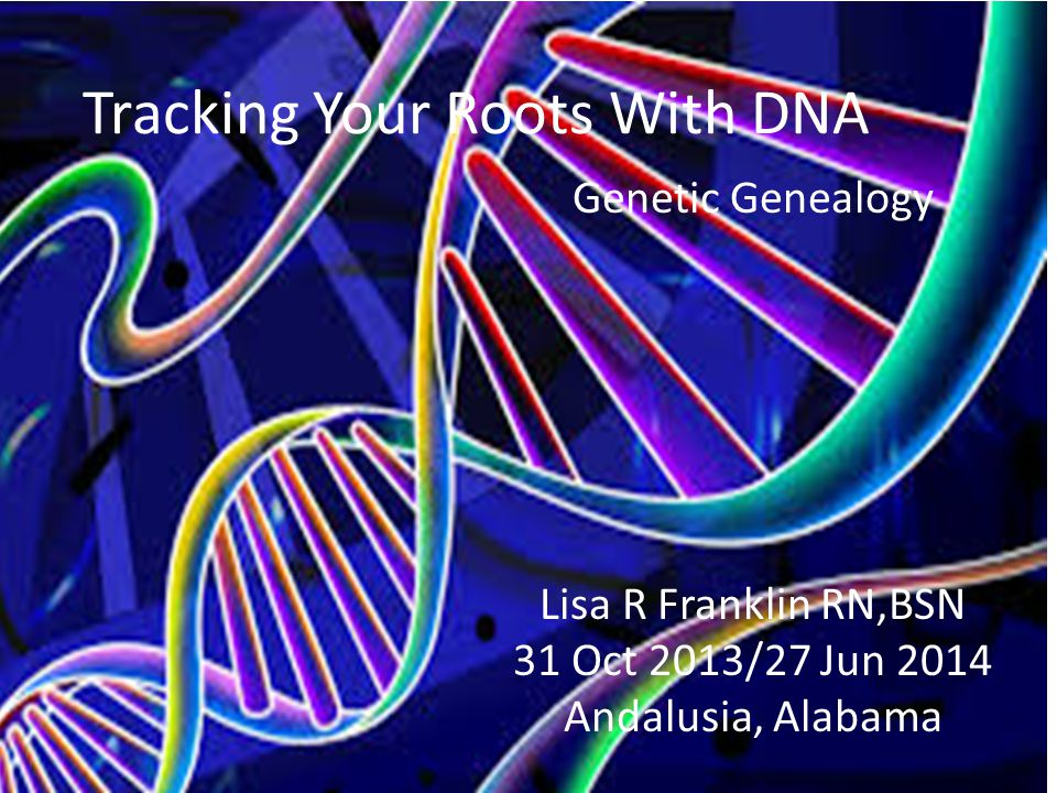 Tracking Your Roots With DNA