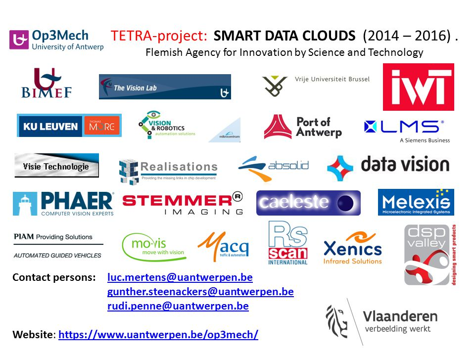 TETRA-project: SMART DATA CLOUDS (2014 – 2016)