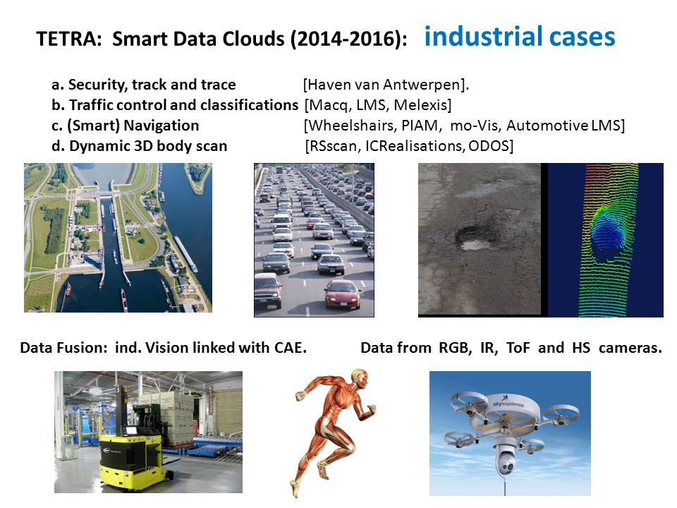 TETRA: Smart Data Clouds (2014-2016): industrial cases