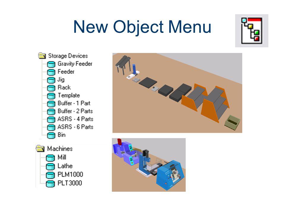 New Object Menu Machines CIM Machining Project Lead The Way, Inc.