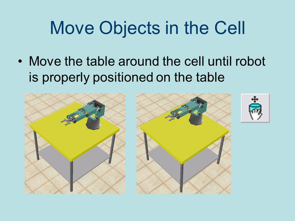 Move Objects in the Cell