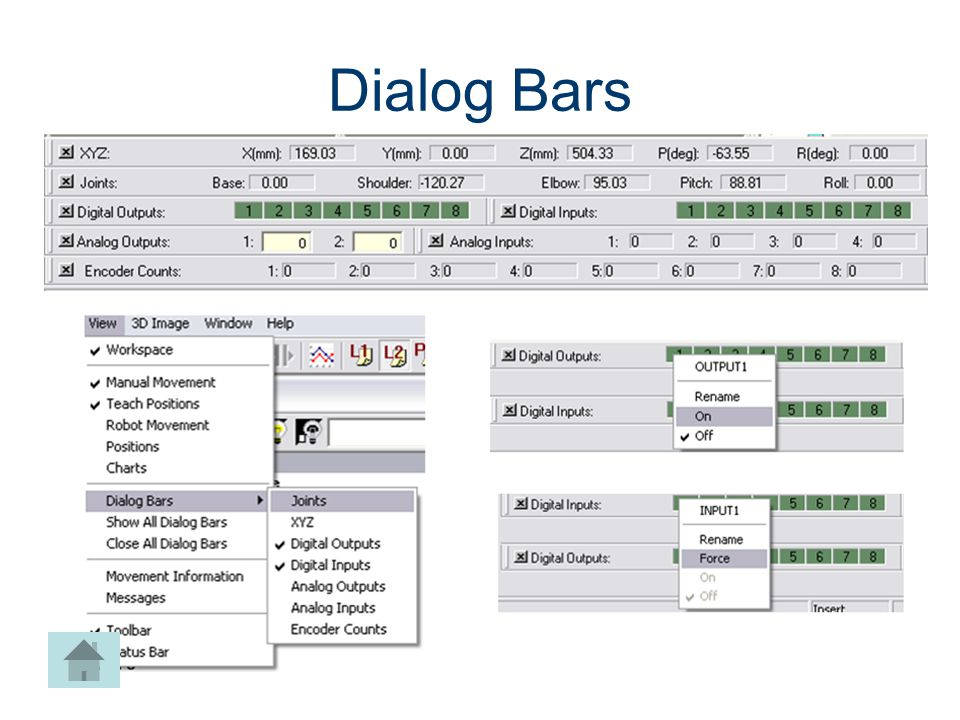 Dialog Bars Machines CIM Machining Project Lead The Way, Inc.