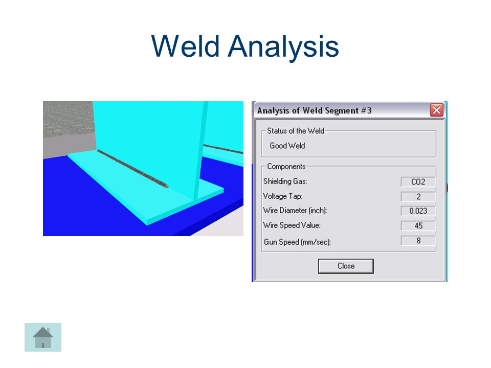 Weld Analysis Machines CIM Machining Project Lead The Way, Inc.