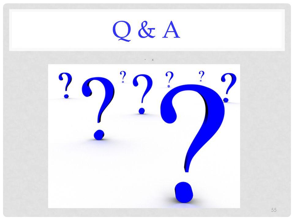 Q & A x