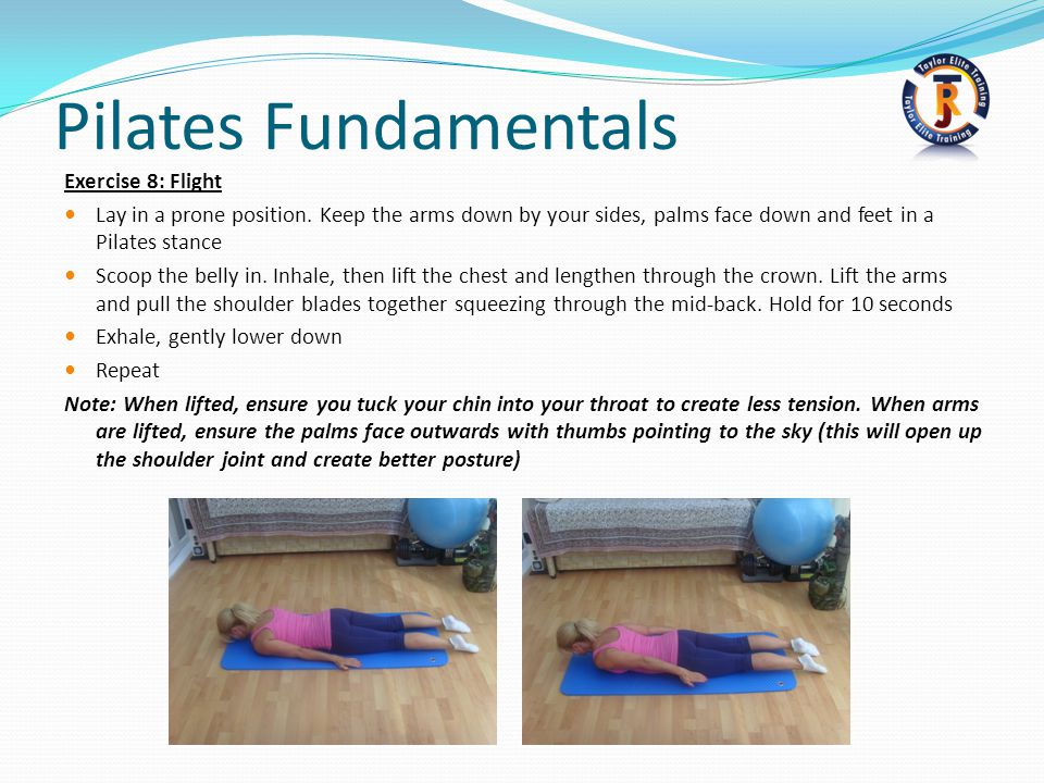 Pilates Fundamentals Exercise 8: Flight