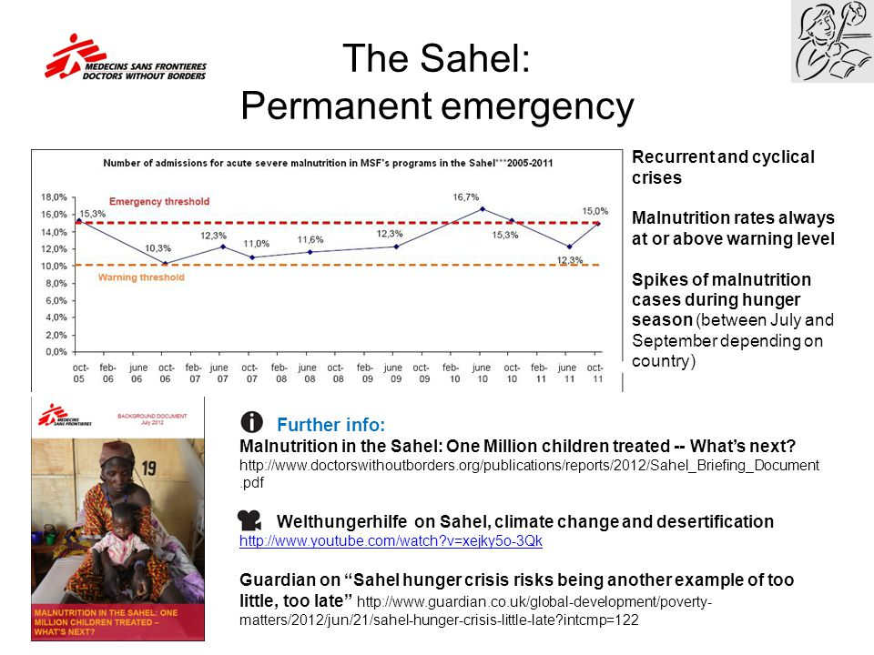 The Sahel: Permanent emergency