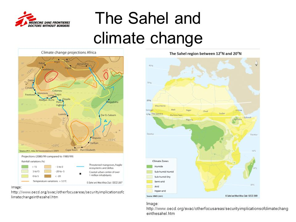 The Sahel and climate change
