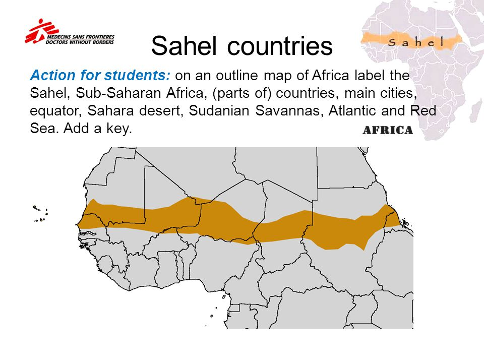 Sahel countries