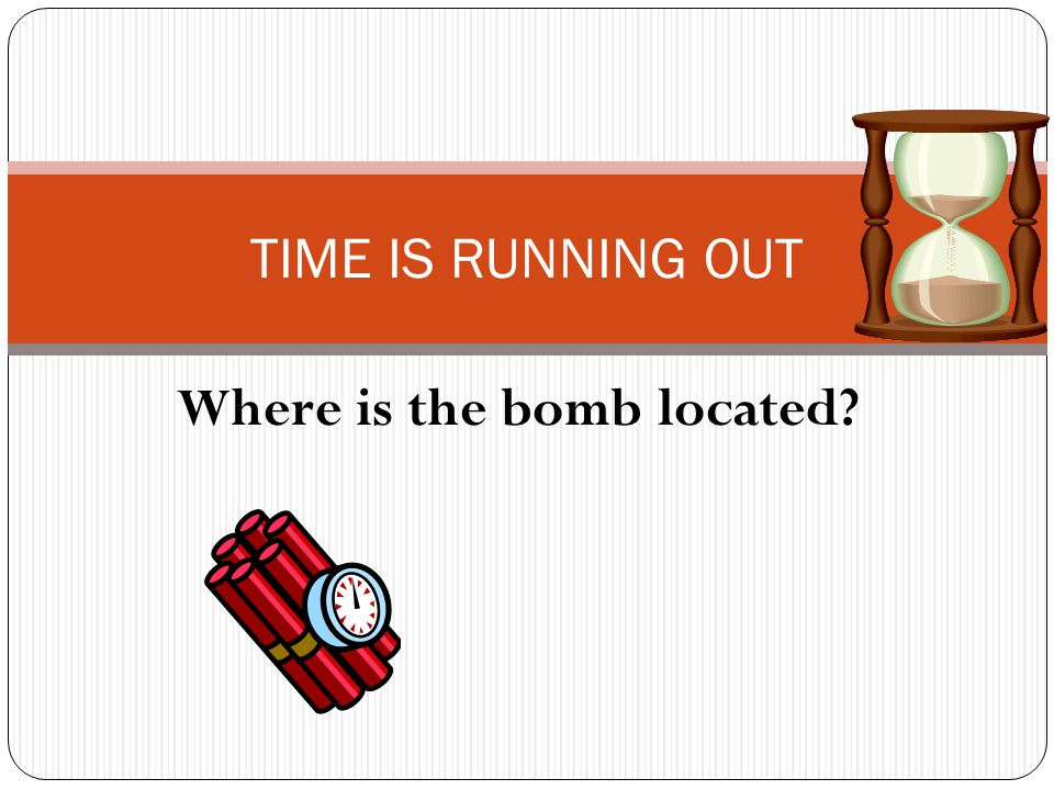 Where is the bomb located