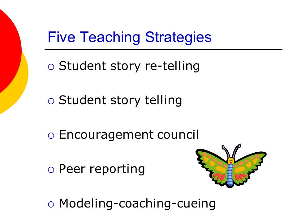 Five Teaching Strategies