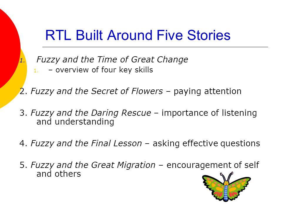 RTL Built Around Five Stories