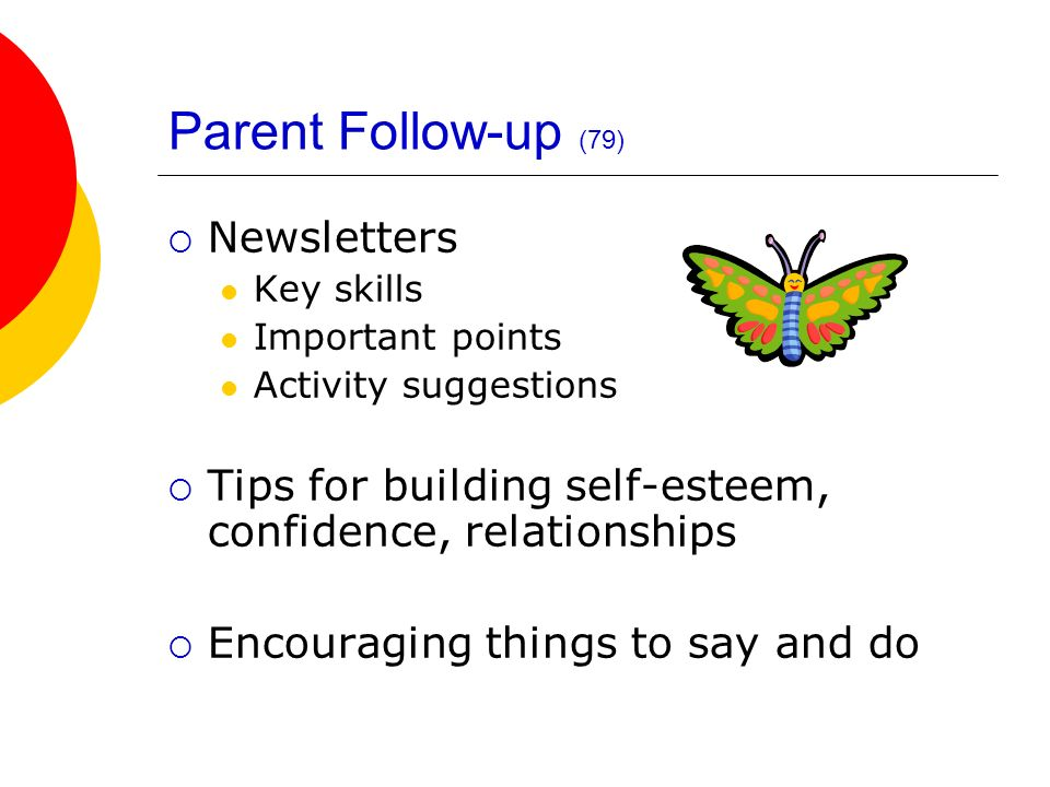 Parent Follow-up (79) Newsletters