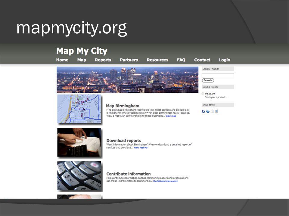 mapmycity.org