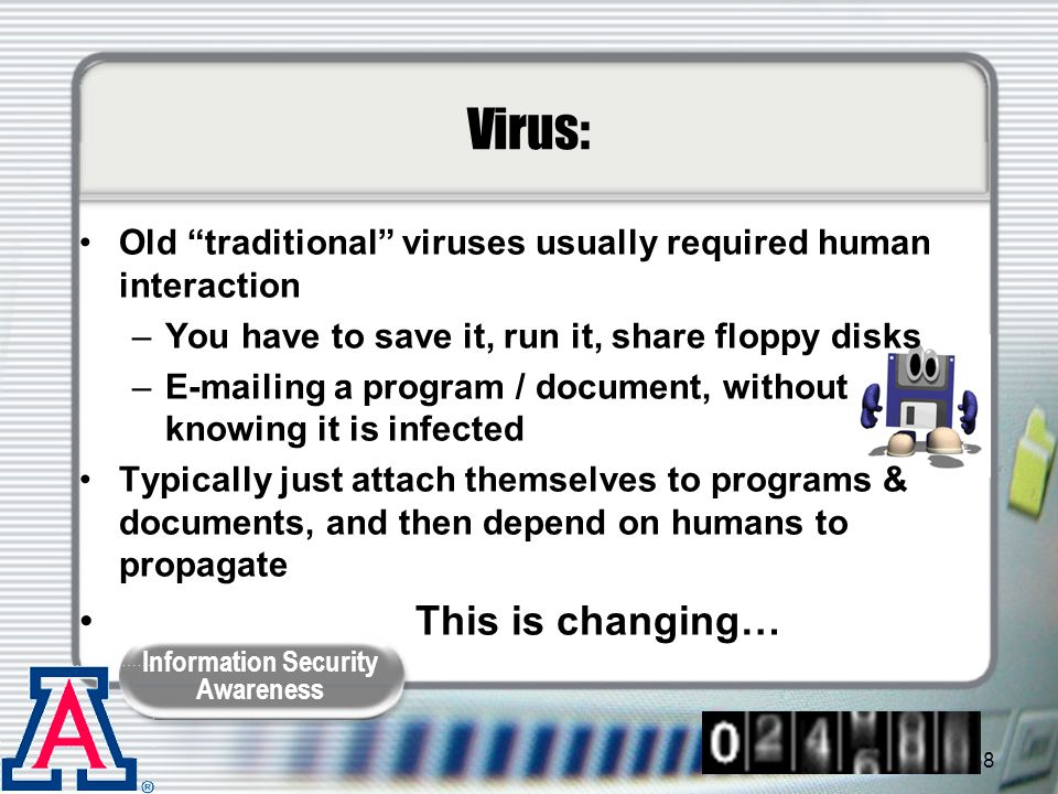 Virus: This is changing…