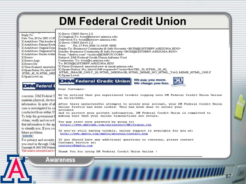 DM Federal Credit Union