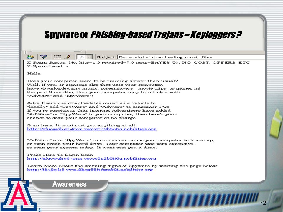 Spyware or Phishing-based Trojans – Keyloggers