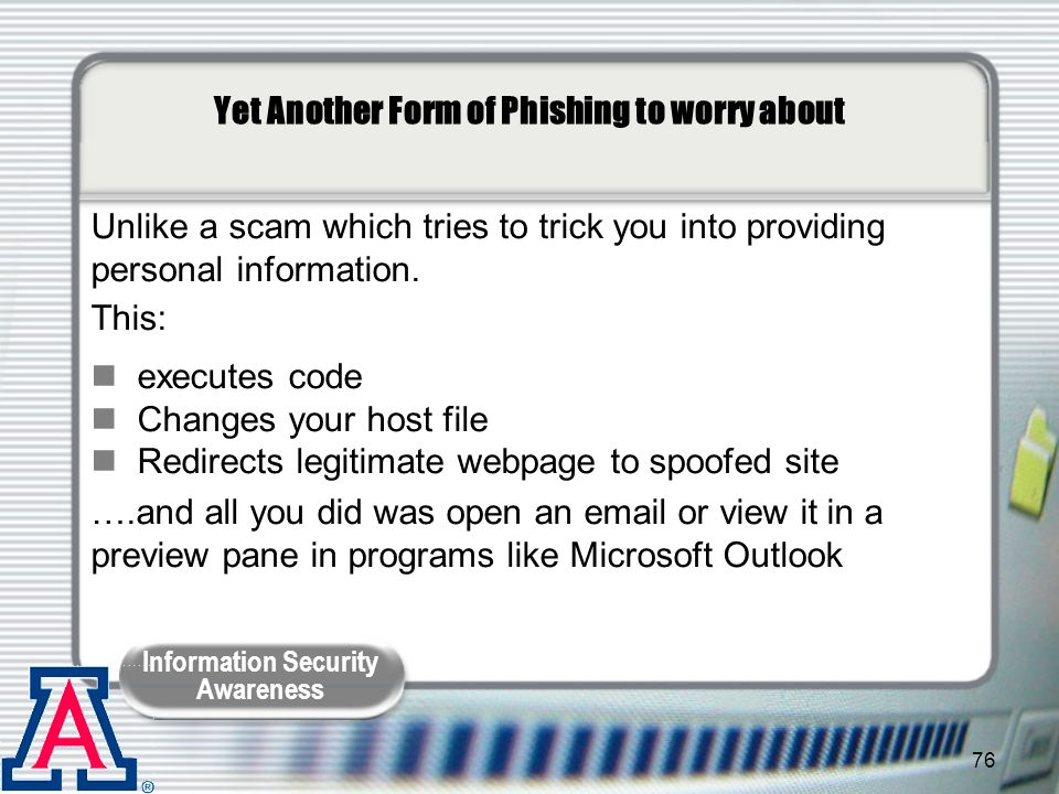 Yet Another Form of Phishing to worry about