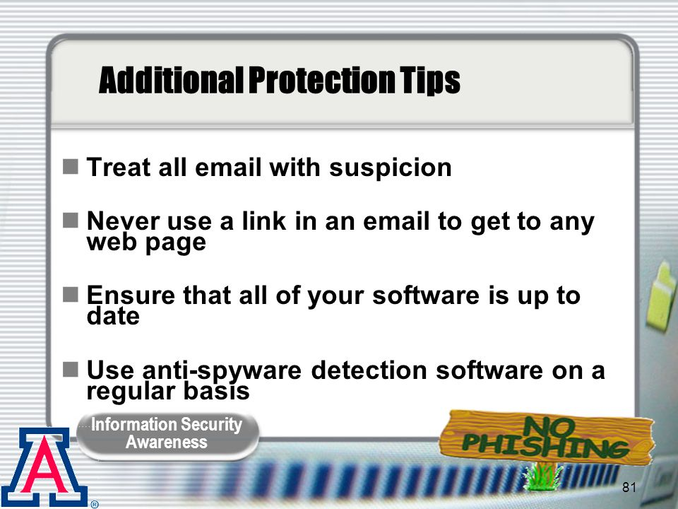 Additional Protection Tips