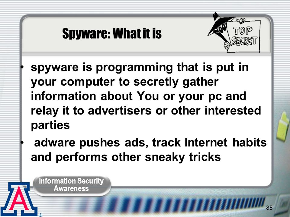 Spyware: What it is