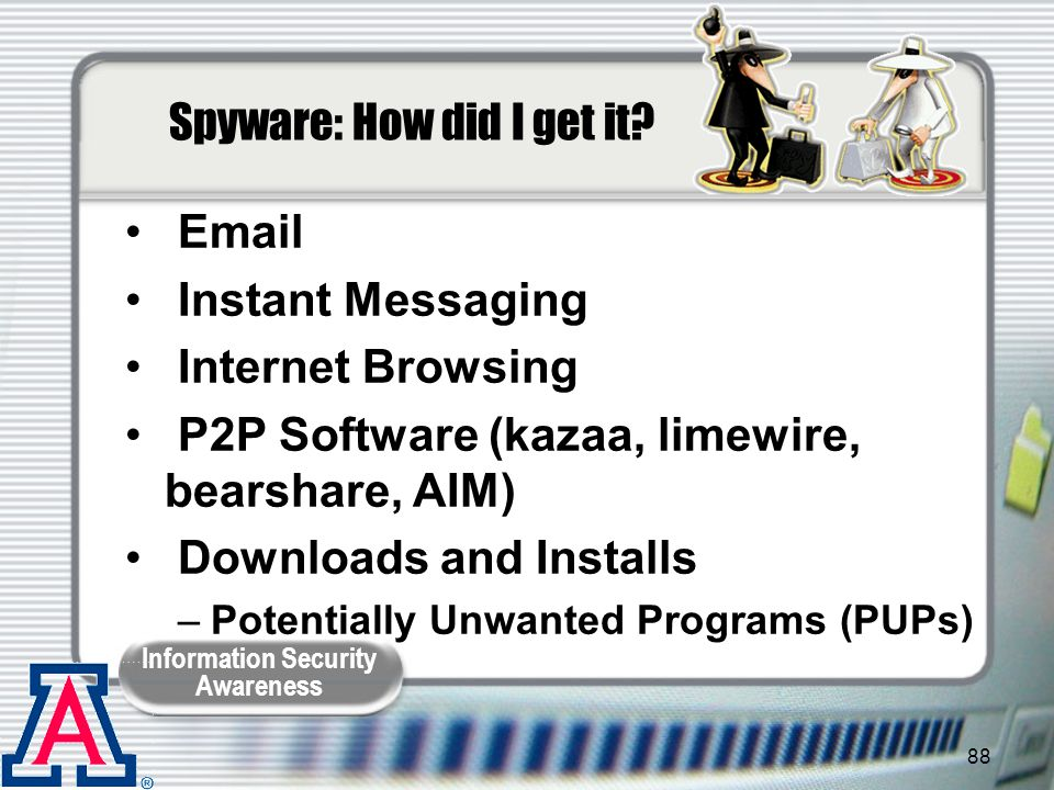 Spyware: How did I get it