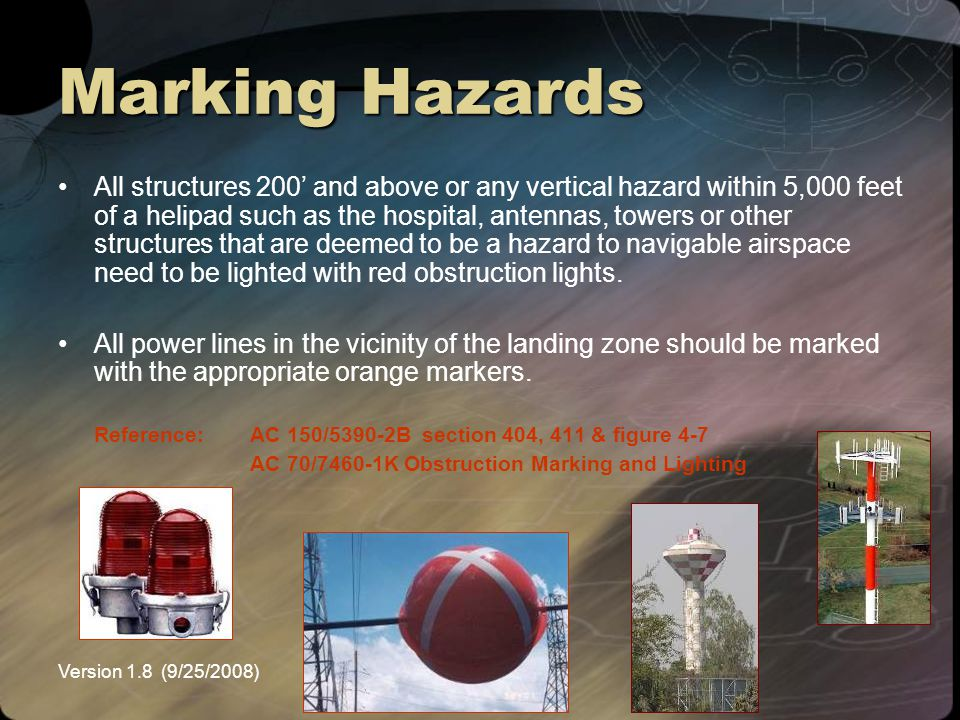 Marking Hazards