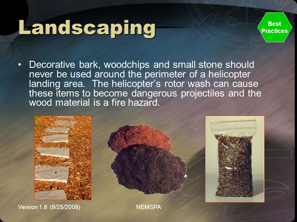 Landscaping Best. Practices.