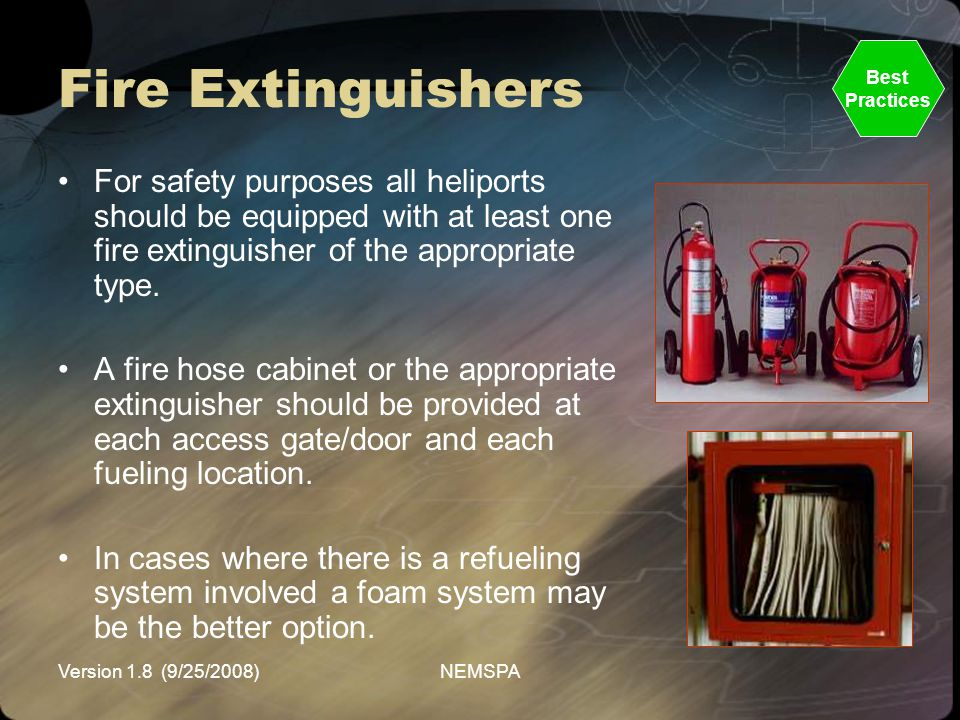 Fire Extinguishers Best. Practices.