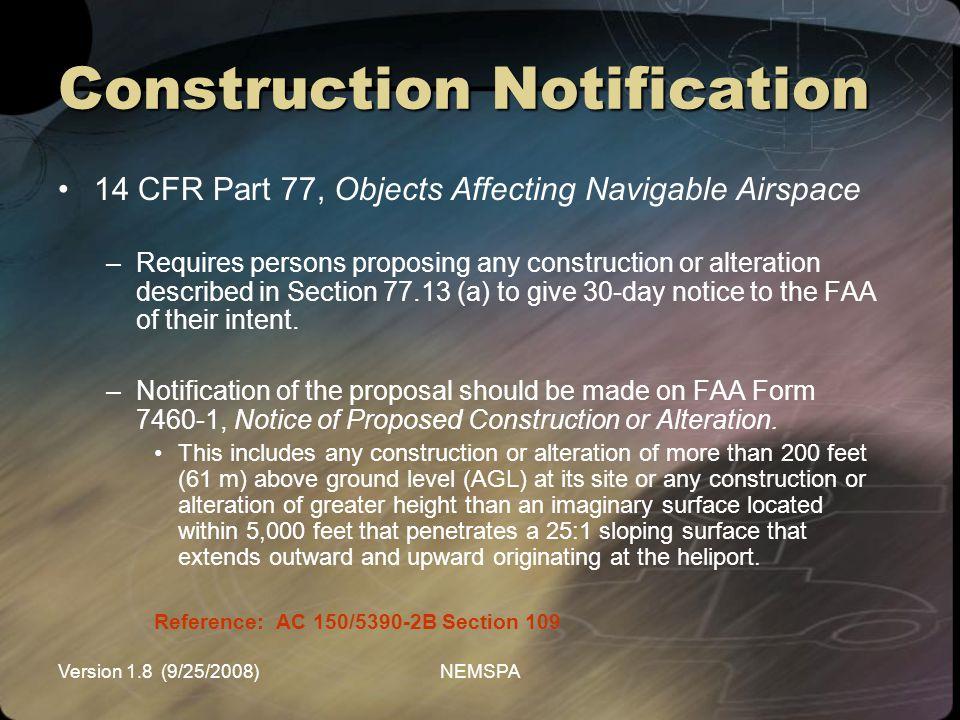 Construction Notification