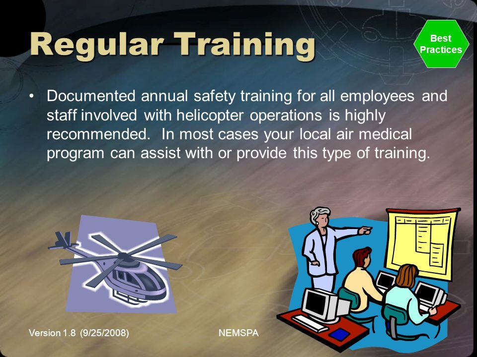 Regular Training Best. Practices.