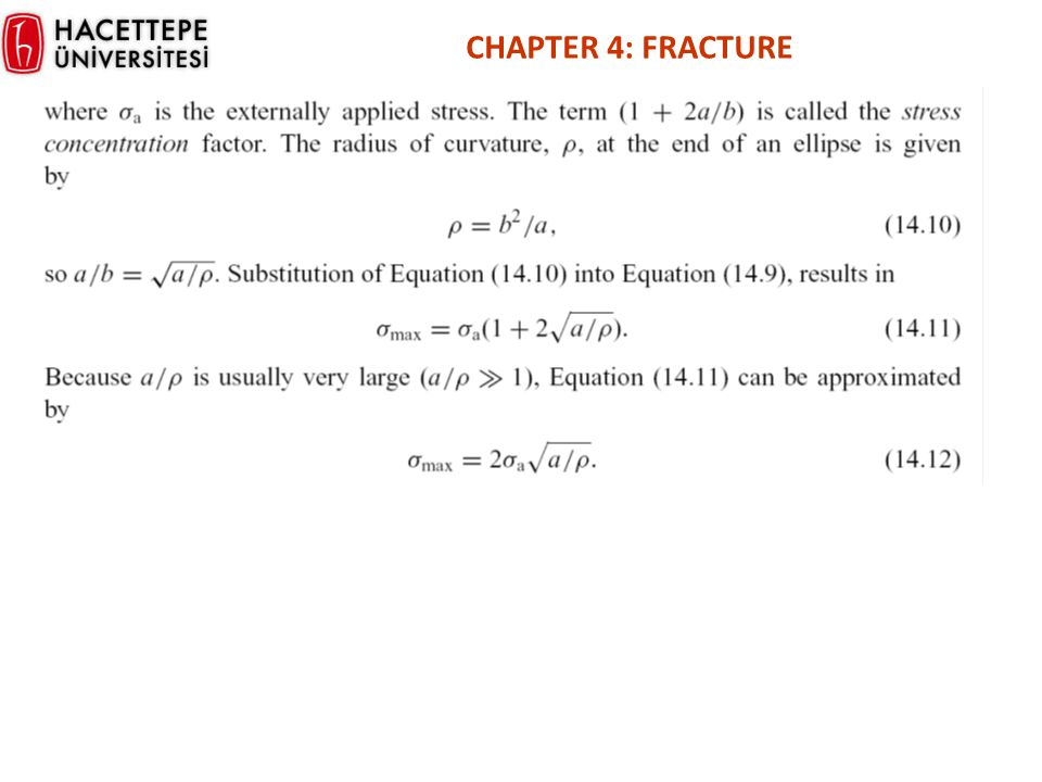CHAPTER 4: FRACTURE