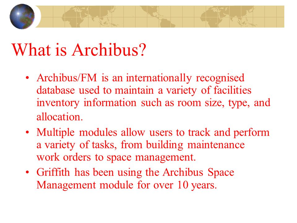 What is Archibus