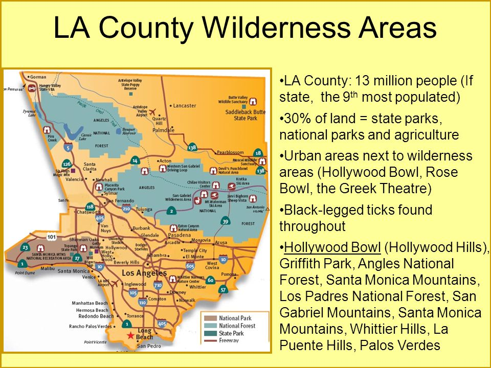 LA County Wilderness Areas