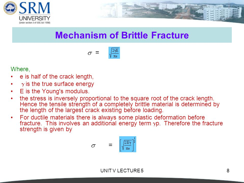 Mechanism of Brittle Fracture