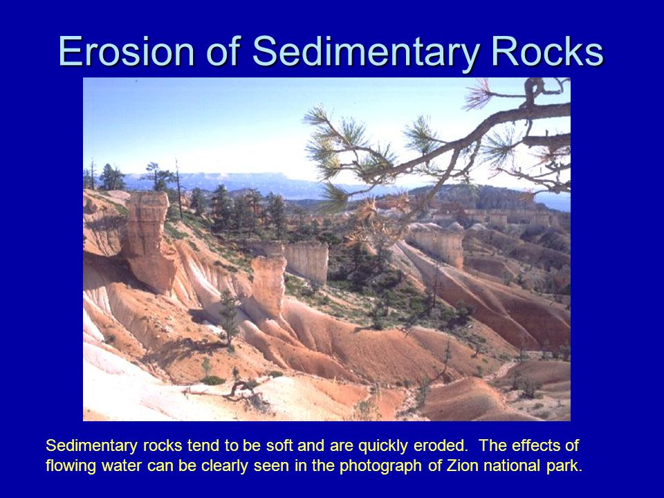 Erosion of Sedimentary Rocks