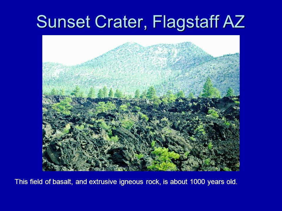 Sunset Crater, Flagstaff AZ