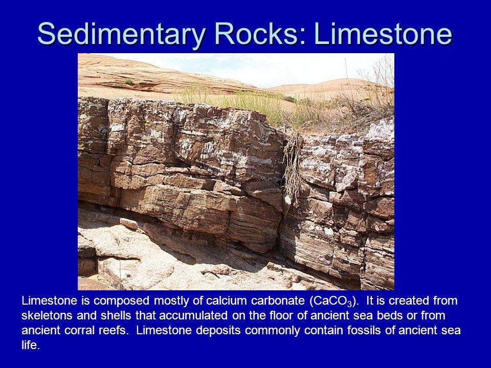Sedimentary Rocks: Limestone