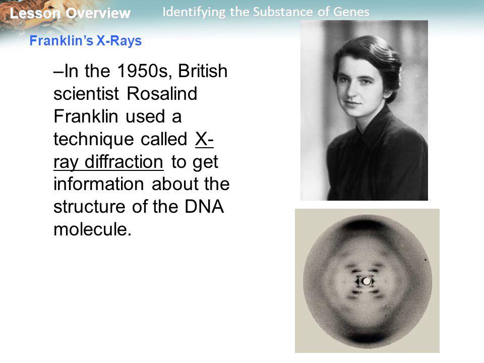 Franklin's X-Rays