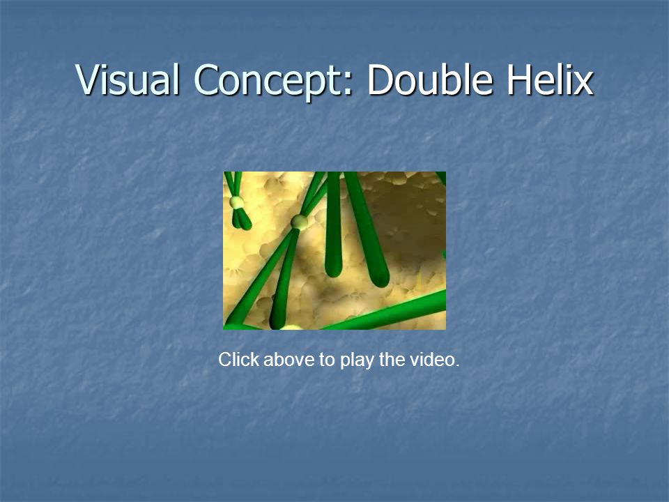 Visual Concept: Double Helix