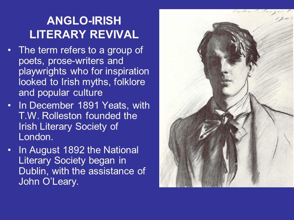 ANGLO-IRISH LITERARY REVIVAL