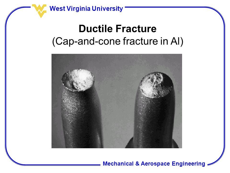 (Cap-and-cone fracture in Al)